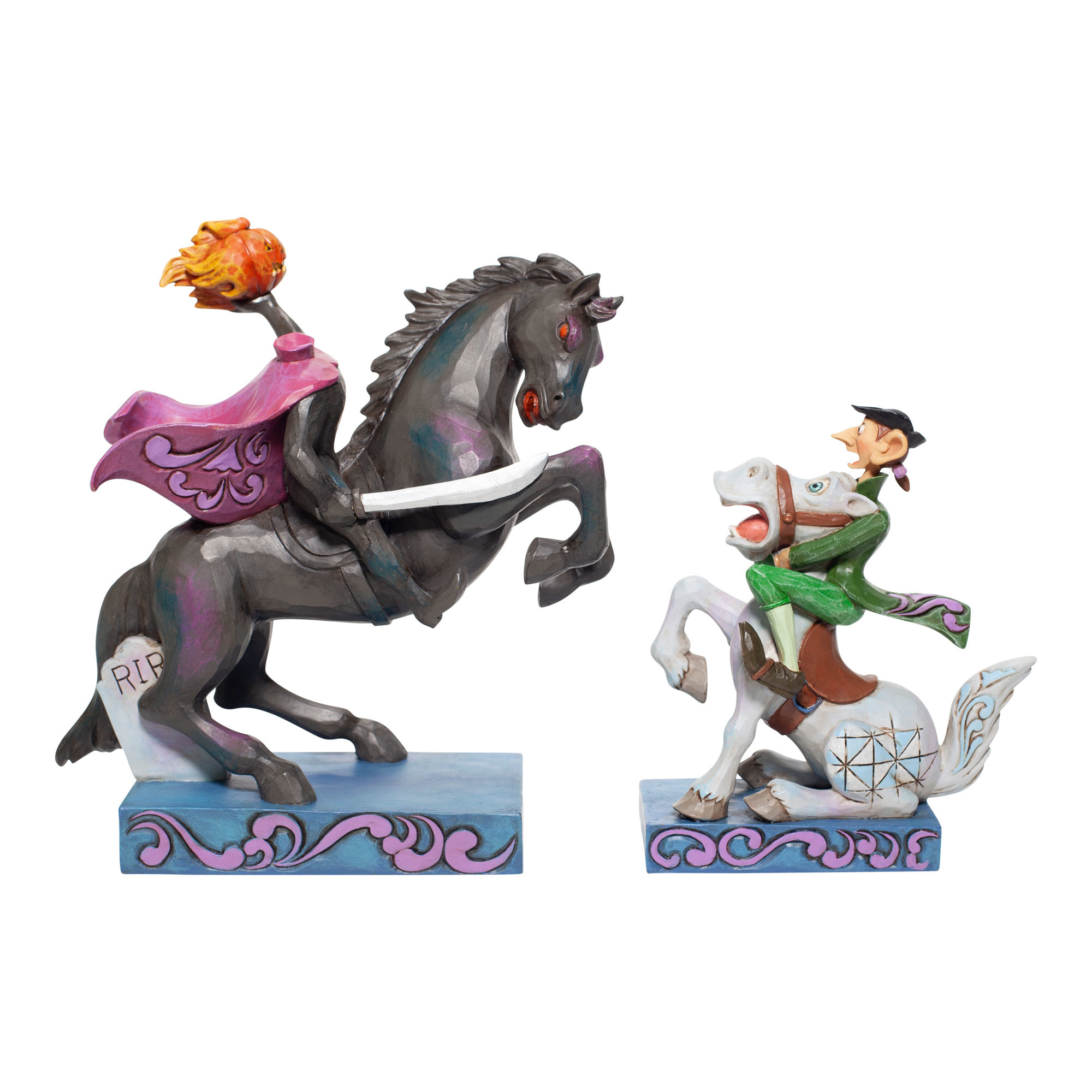 Pre-Order Disney Traditions Headless Horseman & Ichabod Figurine